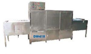 Máy rửa băng chuyền DW-618
