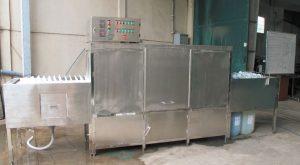 Máy rửa chén bát băng chuyền DW-618
