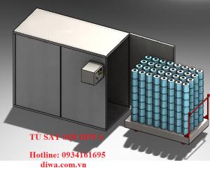 Tủ sấy sợi cuộn DIWA